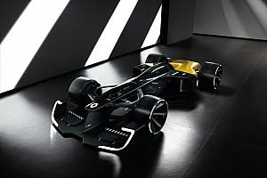 Formula 1 Special feature GALERI: Konsep mobil Renault F1 2027