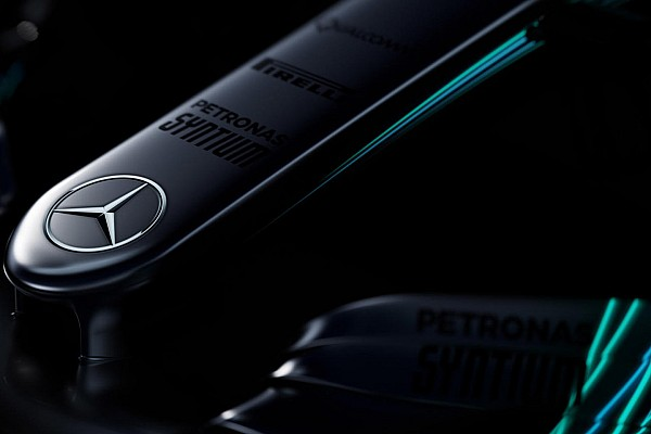 Formula 1 Breaking news Mercedes teases images of F1 2017 car