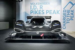 VW onthult de volledig elektrische wagen voor Pikes Peak