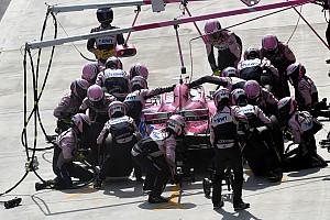 Forma-1 Motorsport.com hírek Videón a három leggyorsabb F1-es bokszkiállás Kínából