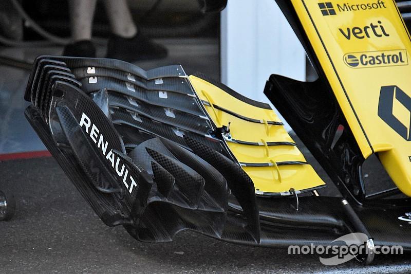 Renault presenta un nuevo concepto de alerón delantero