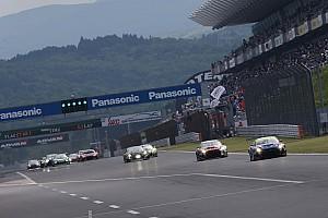 富士24時間レース決勝がスタート。いきなりSC出動、波乱の幕開け