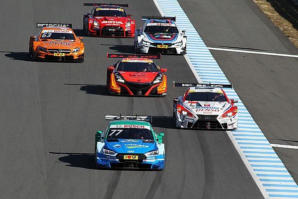 DTM News Vielbeachteter DTM-Showauftritt beim Super-GT-Finale in Japan
