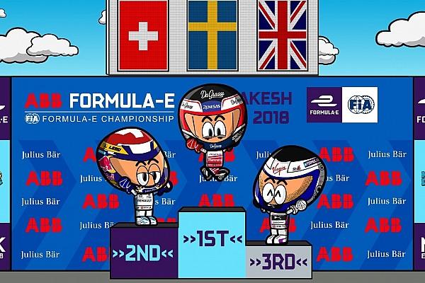 Formula E Reporte de la carrera VIDEO: Los