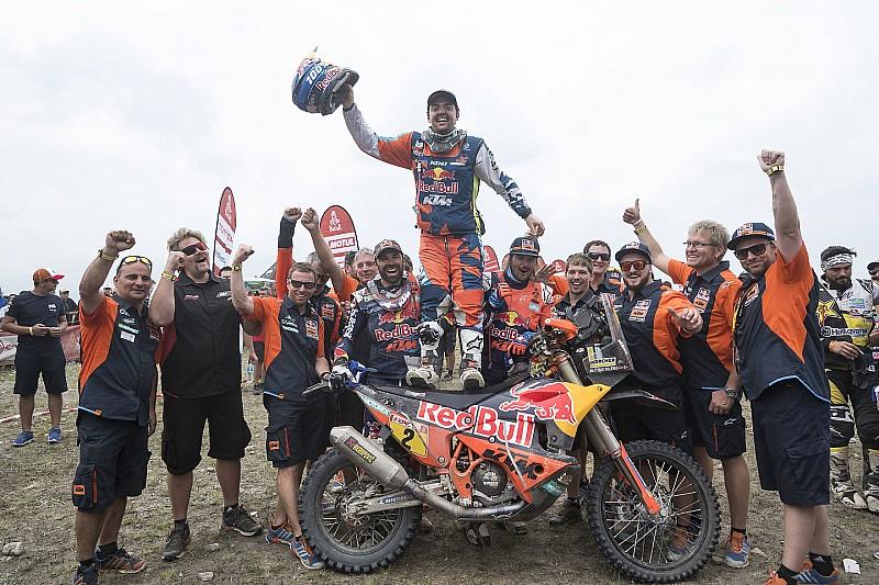 Dakar, Walkner orgoglio KTM: