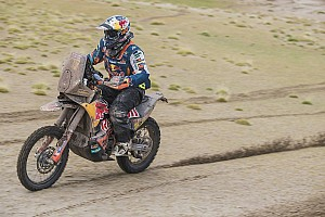 Dakar Stage report Dakar 2018, Stage 10: Walkner takes shock lead as rivals crumble