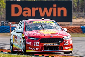 Supercars Race report Darwin Supercars: McLaughlin holds on to win tight opener