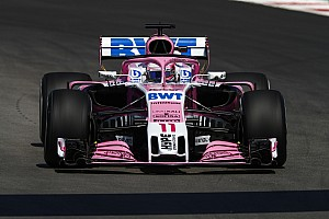 Force India car requiring
