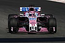 Formula 1 Force India car requiring