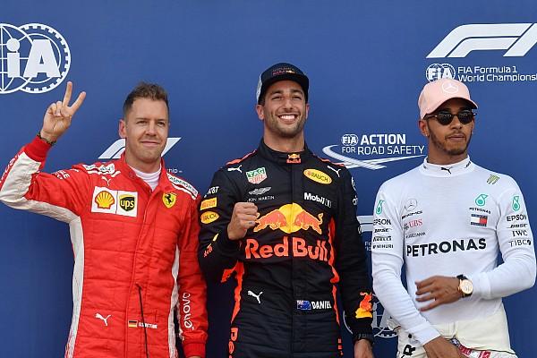 Formule 1 Résultats La grille de départ du GP de Monaco