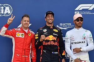 Ricciardo massacra concorrência e é pole em Mônaco