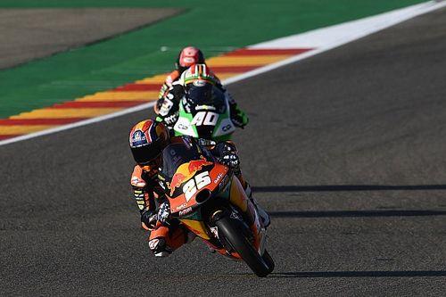 Moto3 Aragon FT3: Fernandez bleibt vorn, viele gestrichene Zeiten