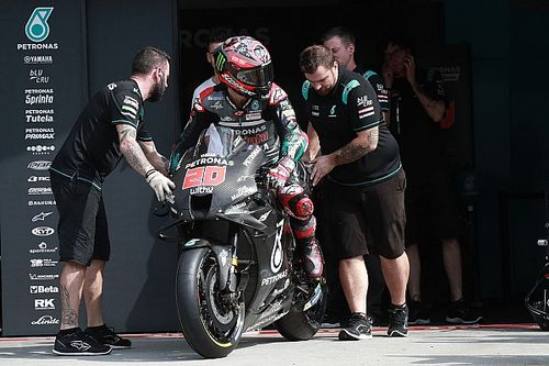 Quartararo fala que Rossi deveria considerar correr pela Petronas pelo profissionalismo da equipe