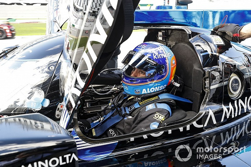 Los últimos libres de Daytona dejan 10º al Cadillac de Alonso
