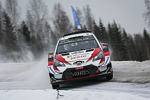 Sweden WRC: Tanak on brink of win, Mikkelsen drops back