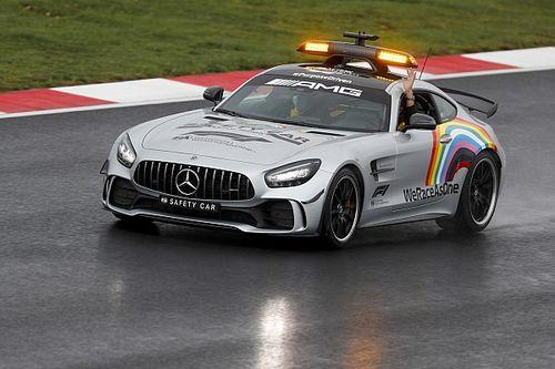 Aston Martin Bakal Dampingi Mercedes Sediakan Safety Car F1 2021