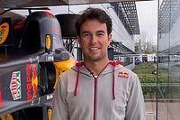 Las imágenes de la visita de Sergio Pérez a Red Bull Racing