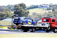Brown's Supercars debut in doubt after practice crash
