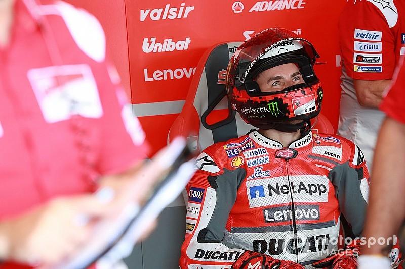 У Ducati дозволили Лоренсо тестувати Honda у листопаді