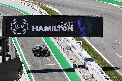 Hamilton: la pole número 100 se siente como las primeras de mi carrera