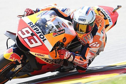 """Marquez """"can't think about"""" continuing German win streak"""