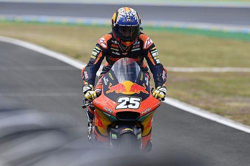 Moto2 - Francia: Raúl Fernandez consigue su primera pole en mitad del caos