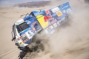 Dakar, Camion, Tappa 9: Nikolaev si riprende il comando e prepara il trionfo di Lima