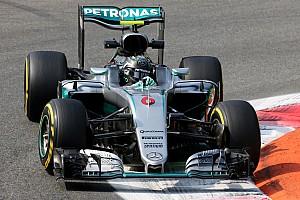 Formula 1 Practice report Italian GP: Rosberg leads dominant Mercedes 1-2 in FP1
