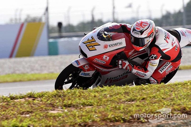尾野「フィーリングは悪くない。予選では最低限2列目を確保するつもり」:Moto3マレーシア
