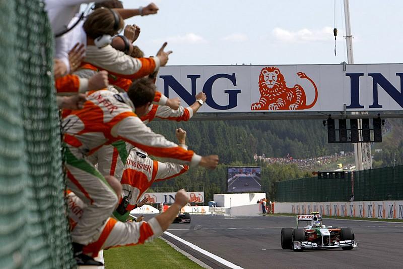 Force India llega a 200 GP en Austria