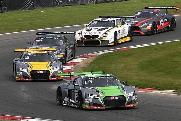 Blancpain Sprint Résumé de course Winkelhock et Stevens emmènent un quadruplé Audi à Zolder