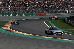 Formel 1 Reaktion Lewis Hamilton: Safety-Car-Einsatz in Spa zur Show,