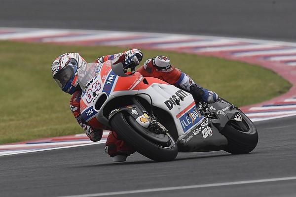 MotoGP Dovizioso pide que los tiempos del FP1 y FP2 no clasifiquen