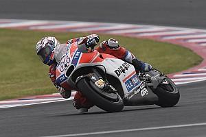 MotoGP Noticias de última hora Dovizioso pide que los tiempos del FP1 y FP2 no clasifiquen