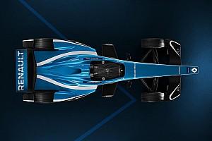 Формула E Новость Renault показала обновленную ливрею машины в Формуле Е