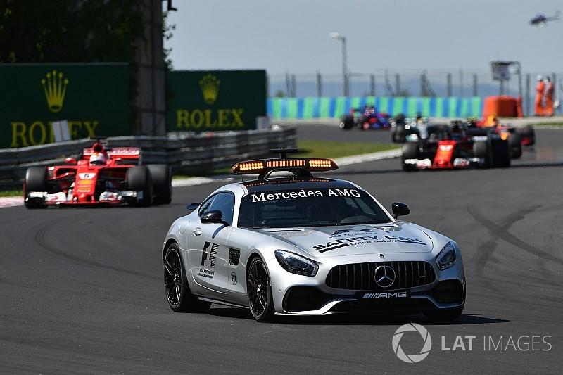 Formule 1 bekijkt mogelijkheden voor autonoom rijdende safety car