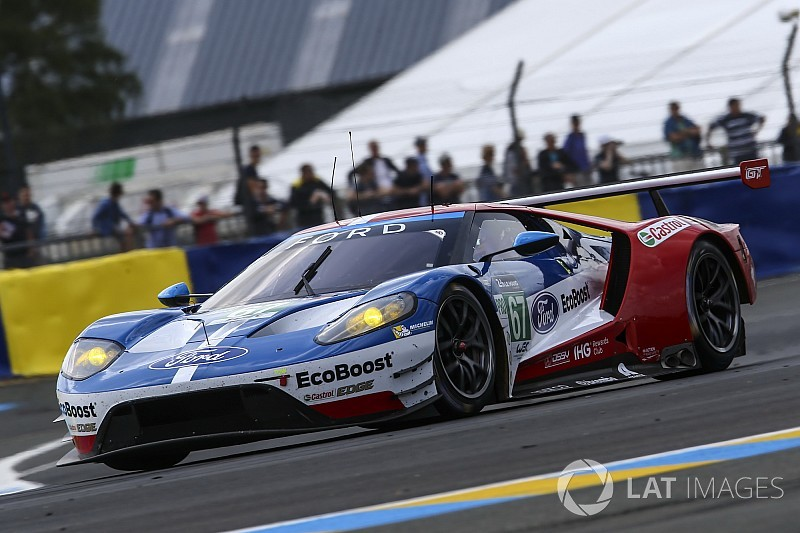 Suspicious Of Ford S Unusual Le Mans Test Pace