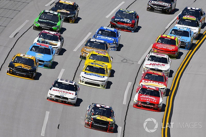 NASCAR reveals 2018 Xfinity Series rules package
