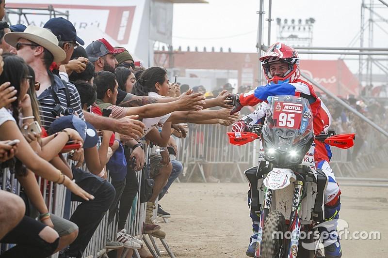 Dakar: per Pavan la tappa marathon dell'Original by Motul è come tutte le altre