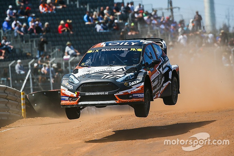 Baumanis to drive new World RX car for Stohl's team