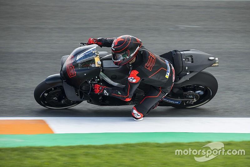 Il debutto di Jorge Lorenzo sulla Honda si conclude con 30 giri ed il 18esimo tempo