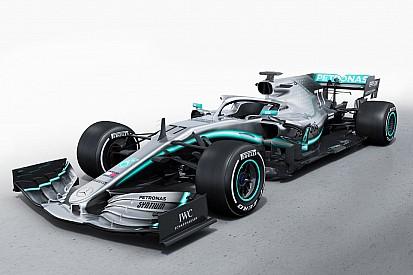 603b08347e31 Mercedes unveils its 2019 Formula 1 car