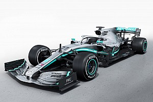 GALERÍA: El Mercedes W10 para la F1 2019