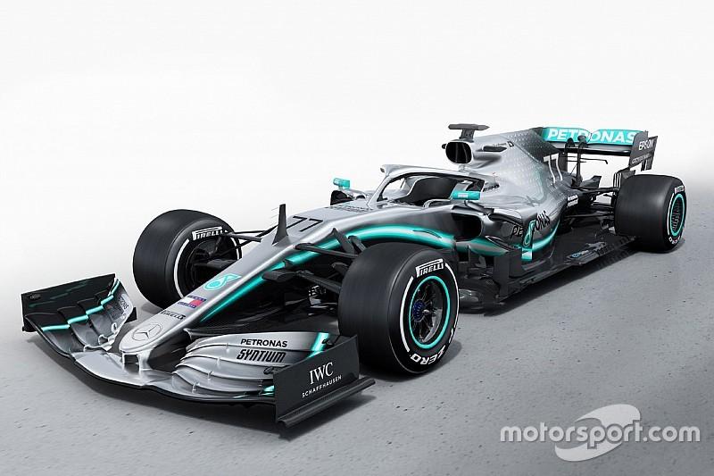 Mercedes apresenta carro para temporada de 2019 da F1