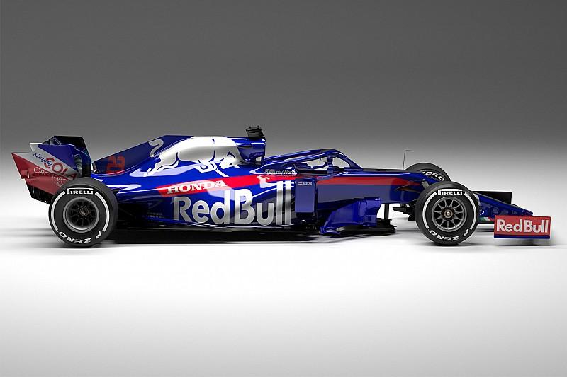 Hivatalosan is bemutatkozott az új Toro Rosso-Honda, az STR14