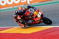 Aragon Moto3: Isınma turlarında Fernandez lider, Deniz ikinci!