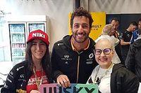 Fã brasileira de Ricciardo que lutava contra câncer morre em Belo Horizonte