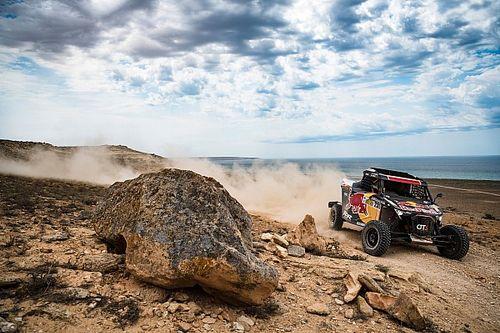 Cristina Gutiérrez gana el Rally de Kazajistán... ¡con dos vértebras rotas!