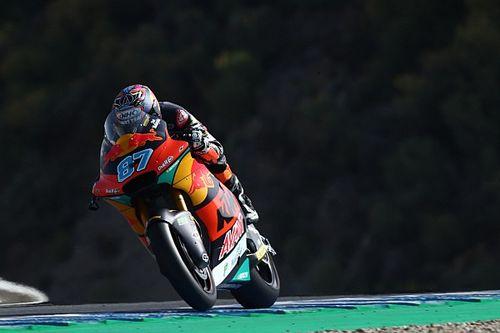 Moto2 Jerez: Remy Gardner polde, Lowes yine kaza yaptı