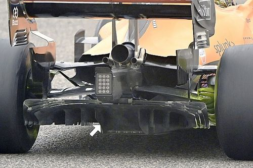 Revealed: McLaren's clever trick to get around diffuser limits